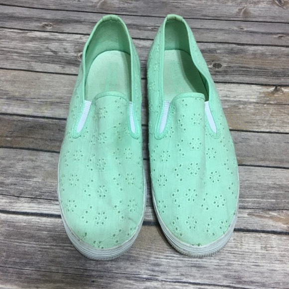 5aad2d00596 American Eagle By Payless Shoes - American Eagle by Payless Mint Green Shoes